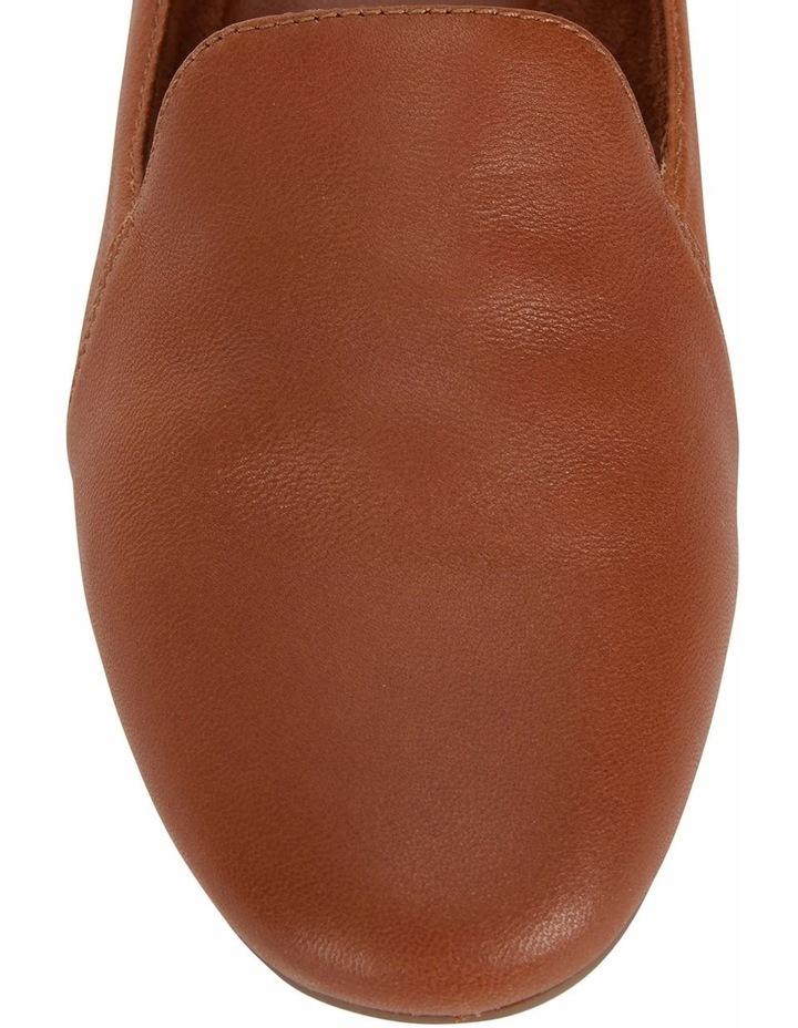 Castle Cognac Glove Flat Shoe image 7