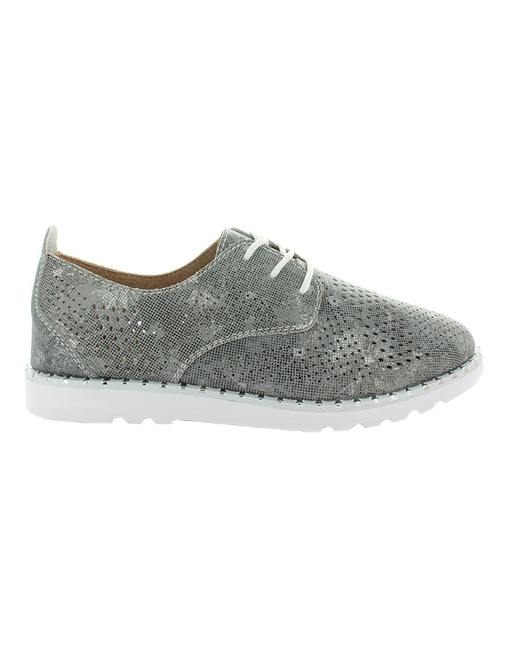 Corinne Silver Flat Shoe image 1