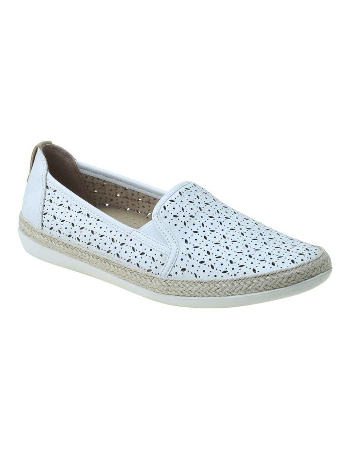 Kim White Flat Shoe image 1