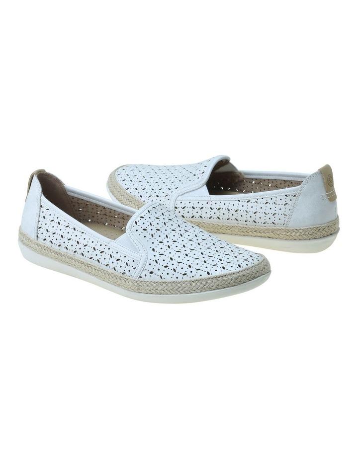Kim White Flat Shoe image 2