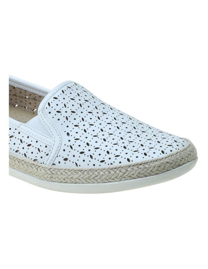 Kim White Flat Shoe image 3
