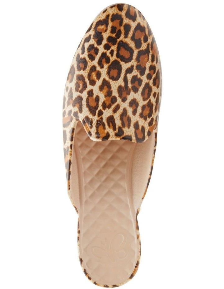 Beach Slipper Leopard Flat Shoe image 2