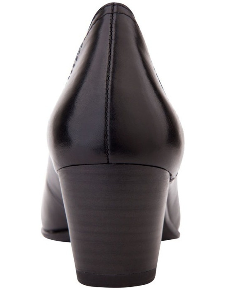 Cyrus Black Glove Heeled Shoes image 6