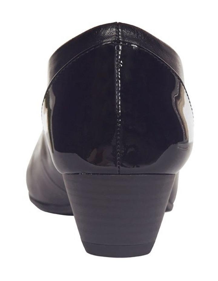 Acton Black Patent/Kid Heeled Shoes image 8