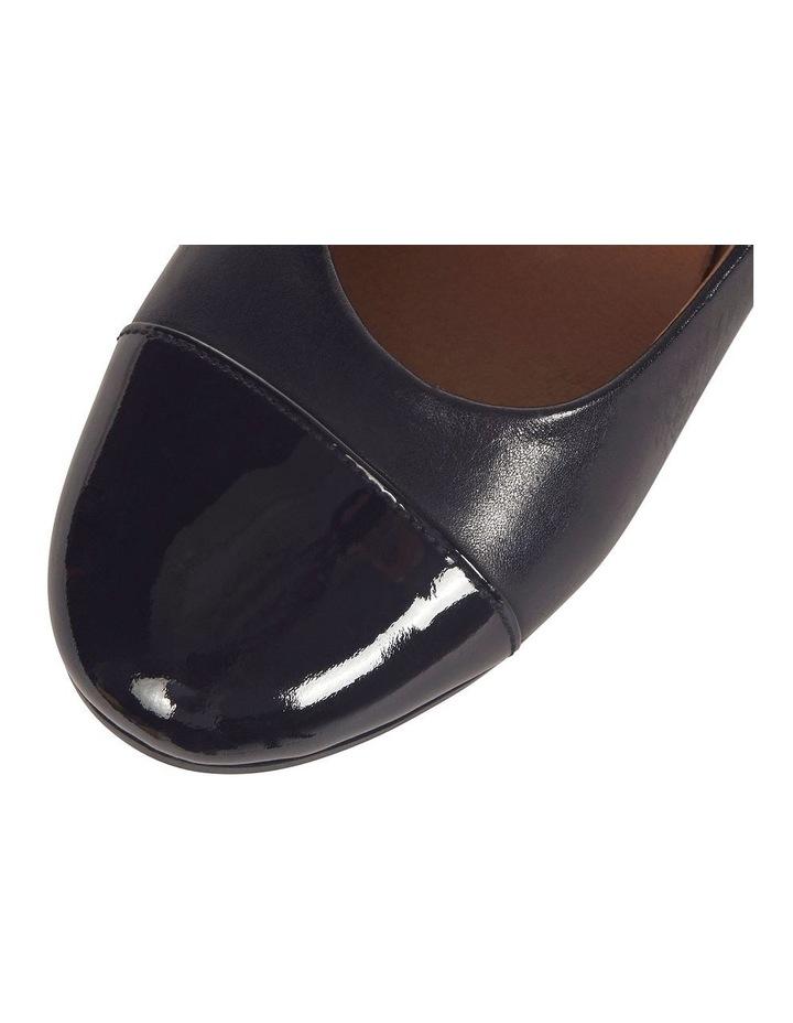 Acton Black Patent/Kid Heeled Shoes image 9