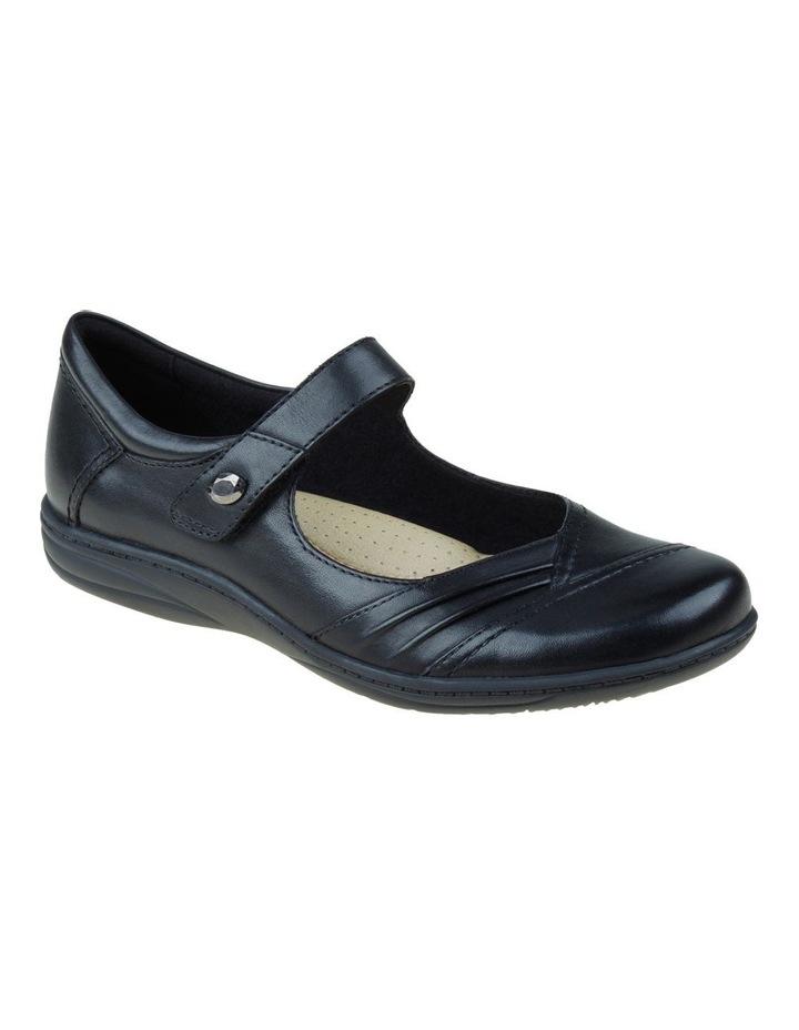 Jamie Black Flat Shoes image 3