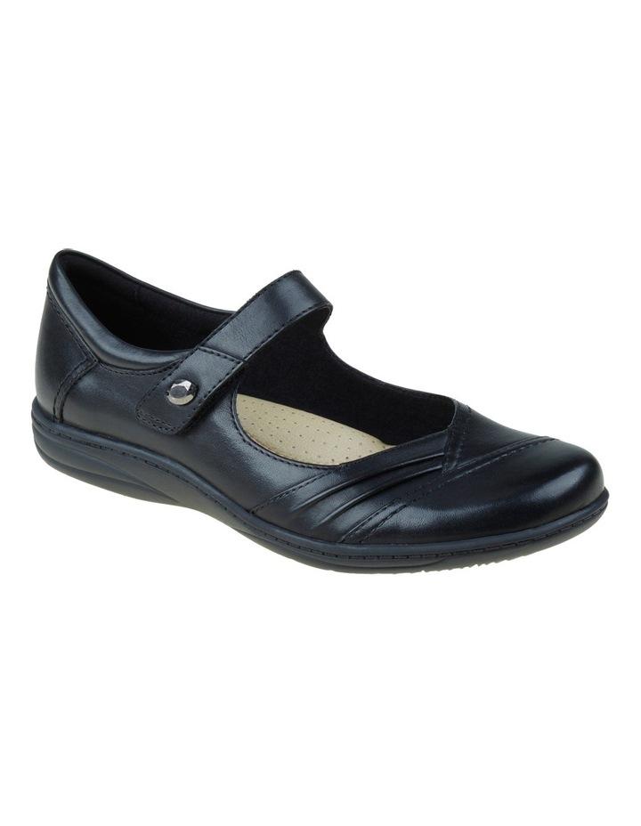 Jamie Black Flat Shoes image 4