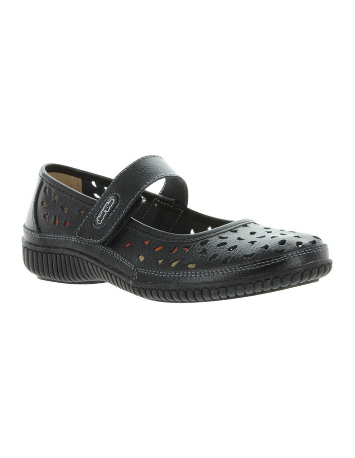 Cale Black Flat Shoes image 2