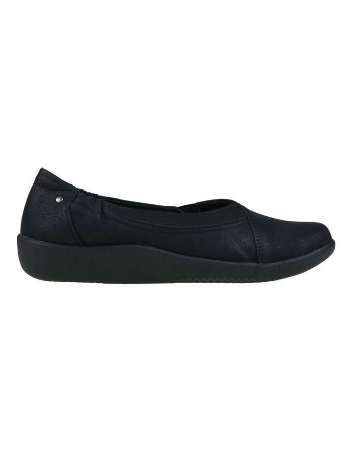 Gerty Black Flat Shoes image 1