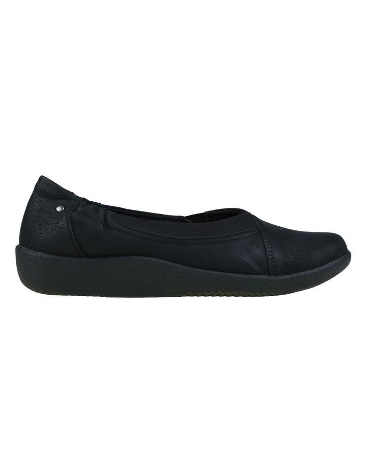 Gerty Black Flat Shoes image 2
