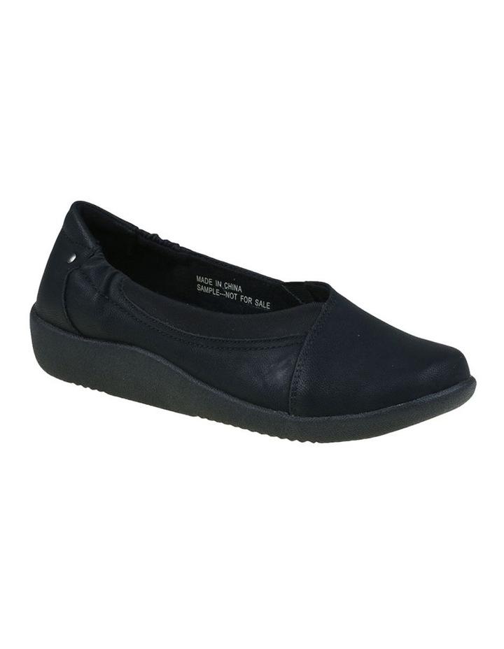 Gerty Black Flat Shoes image 3