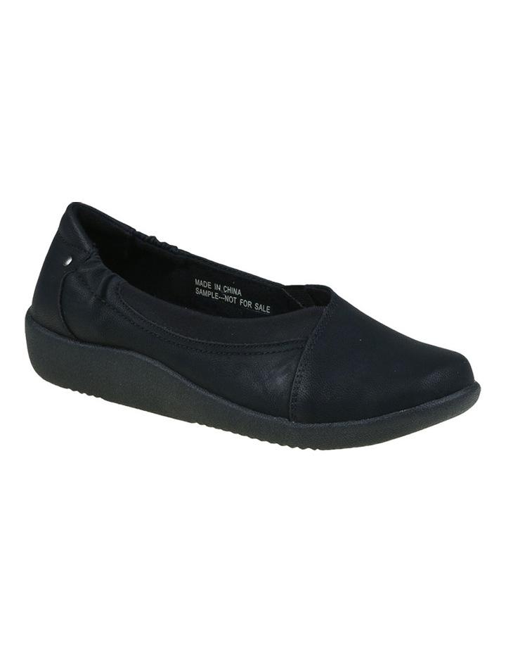 Gerty Black Flat Shoes image 4