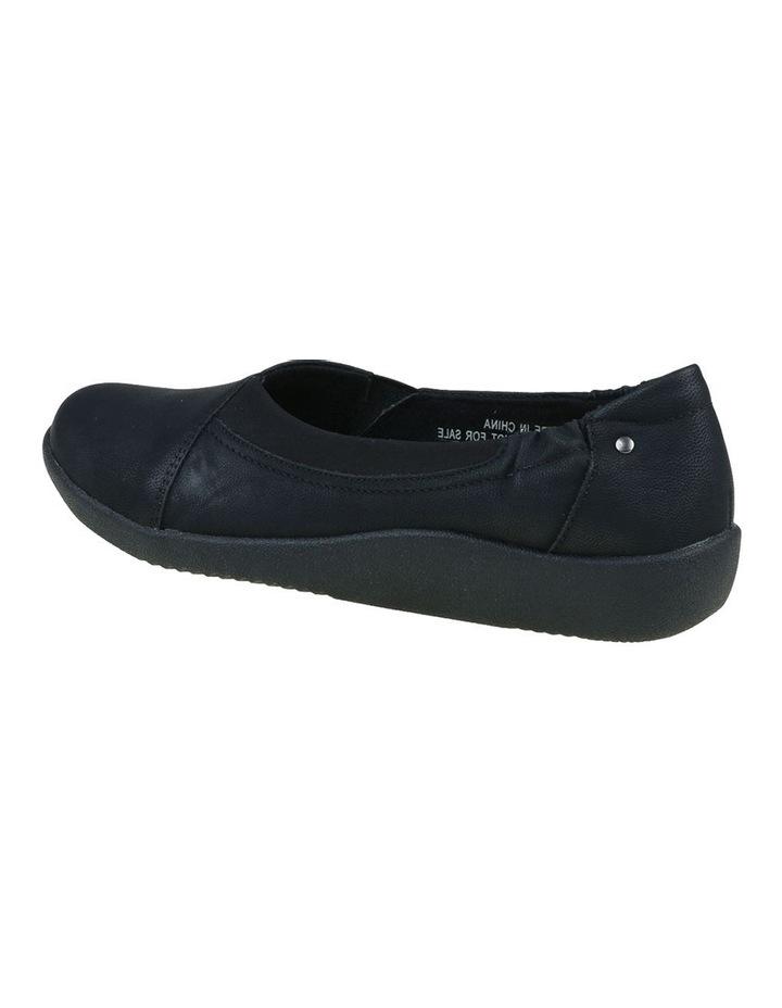 Gerty Black Flat Shoes image 5