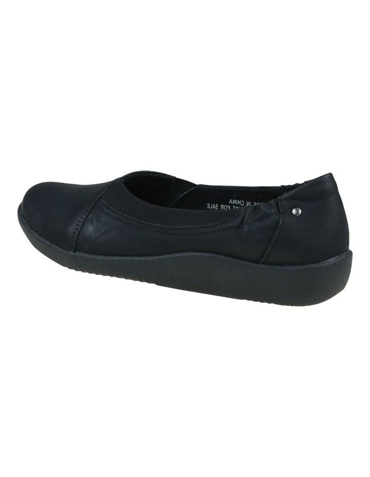 Gerty Black Flat Shoes image 6