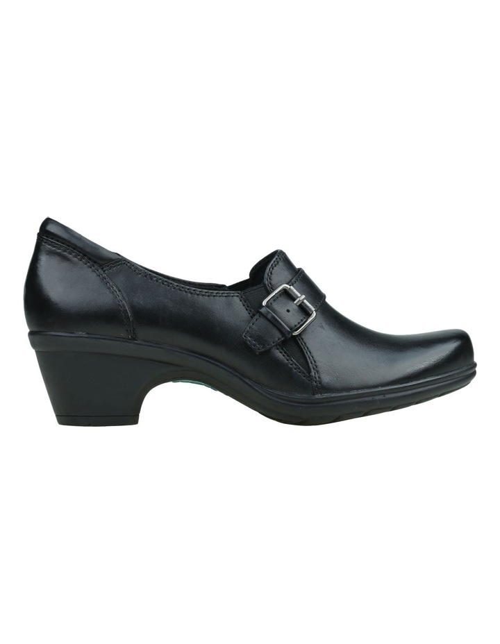Moocha Black Heeled Shoes image 2
