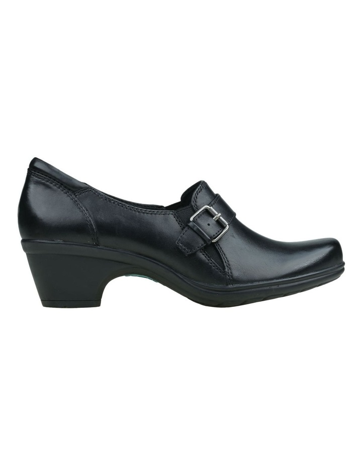 Moocha Black Heeled Shoes image 1