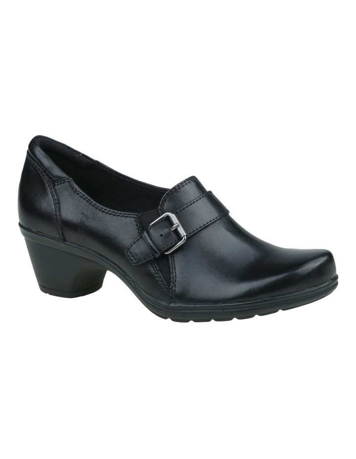 Moocha Black Heeled Shoes image 4