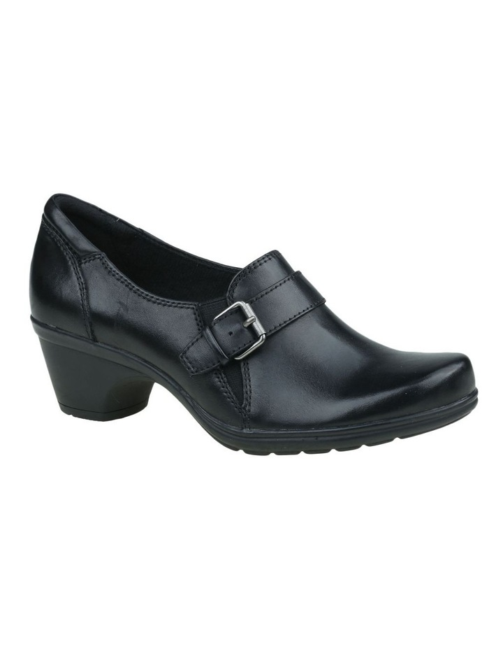 Moocha Black Heeled Shoes image 3