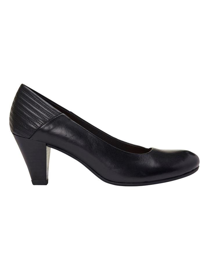 Edina Black Glove Heeled Shoes image 1