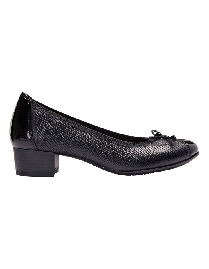 Grace Black Patent/Print Pump image 1