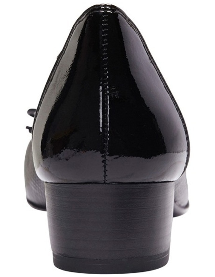 Grace Black Patent/Print Pump image 5