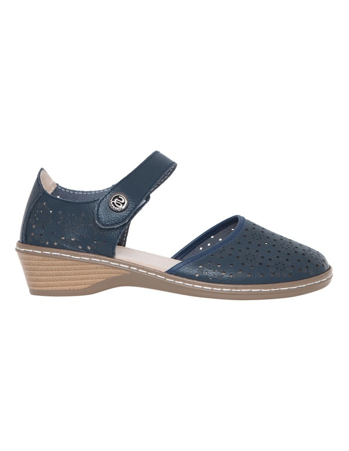 Cemal Navy Flat Shoes image 1