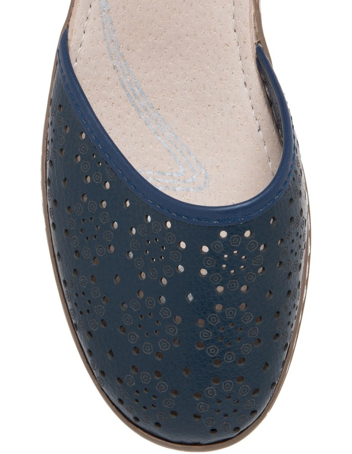 Cemal Navy Flat Shoes image 3