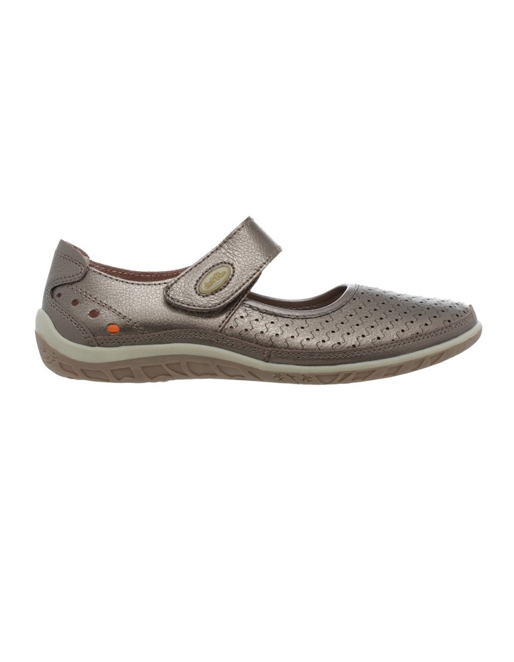 Conia Pewter Flat Shoes image 1