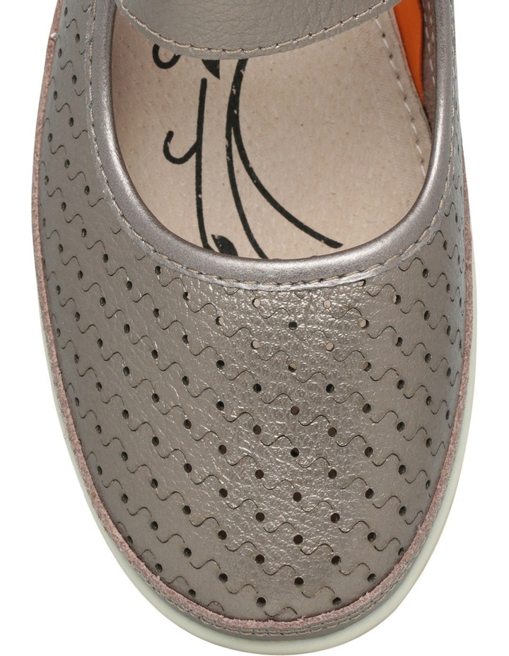 Conia Pewter Flat Shoes image 3
