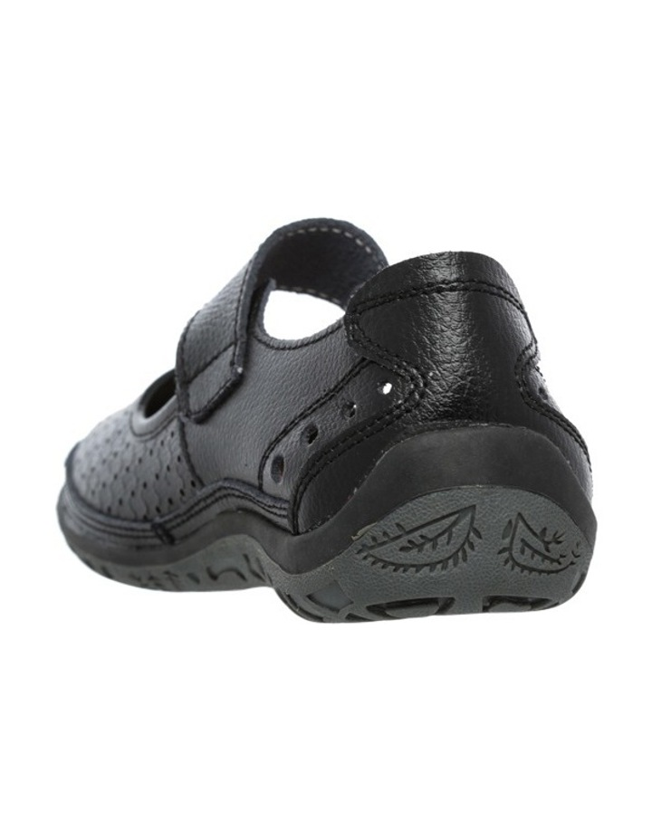 Conia Black Flat Shoes image 2