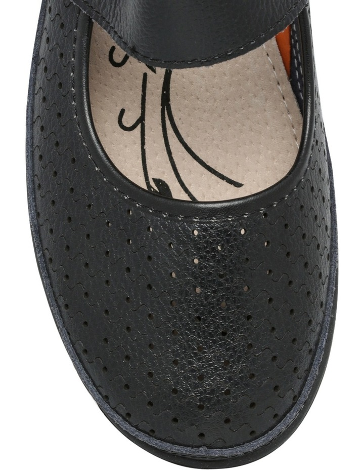 Conia Black Flat Shoes image 3