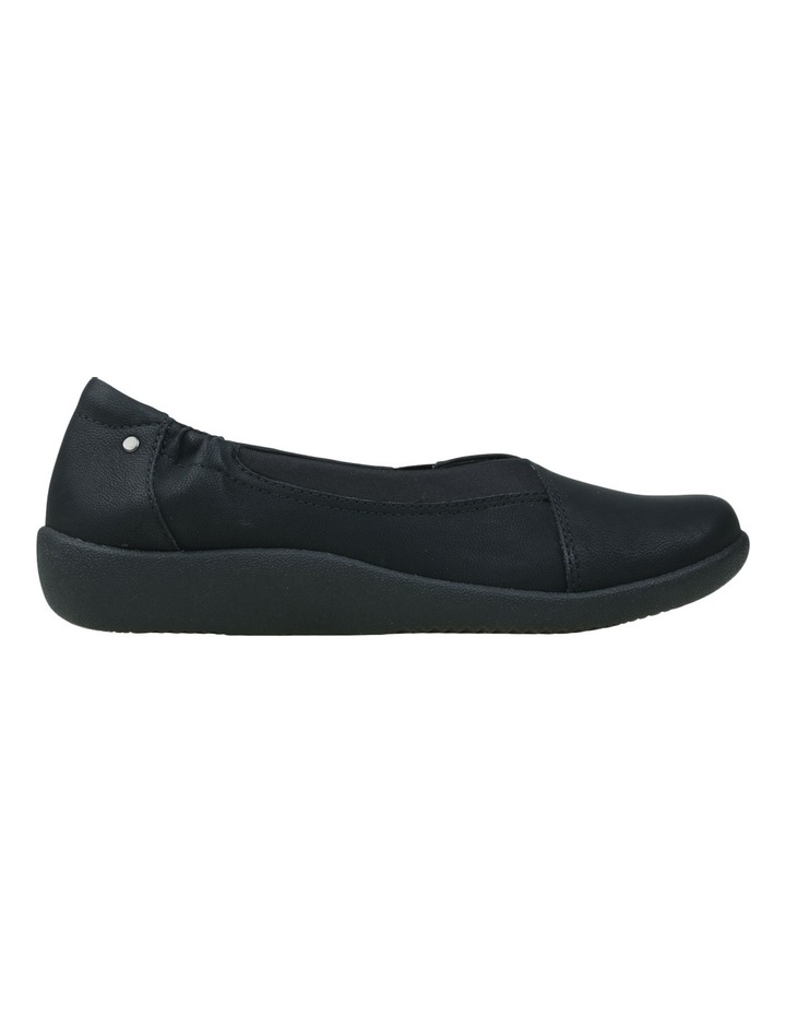 Gerty 2 Black Flat Shoes image 2