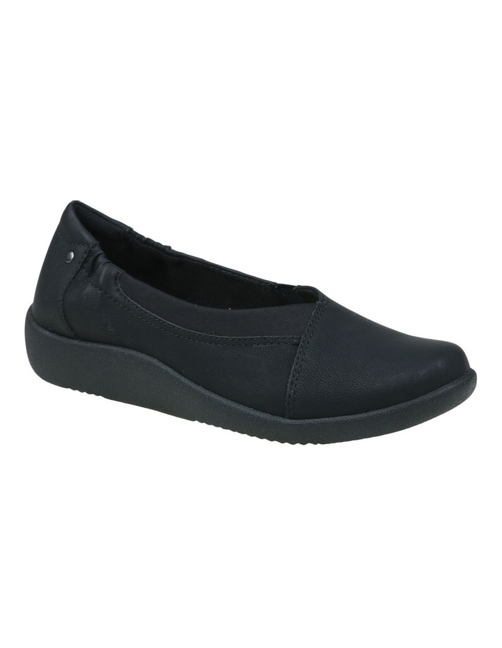 Gerty 2 Black Flat Shoes image 4