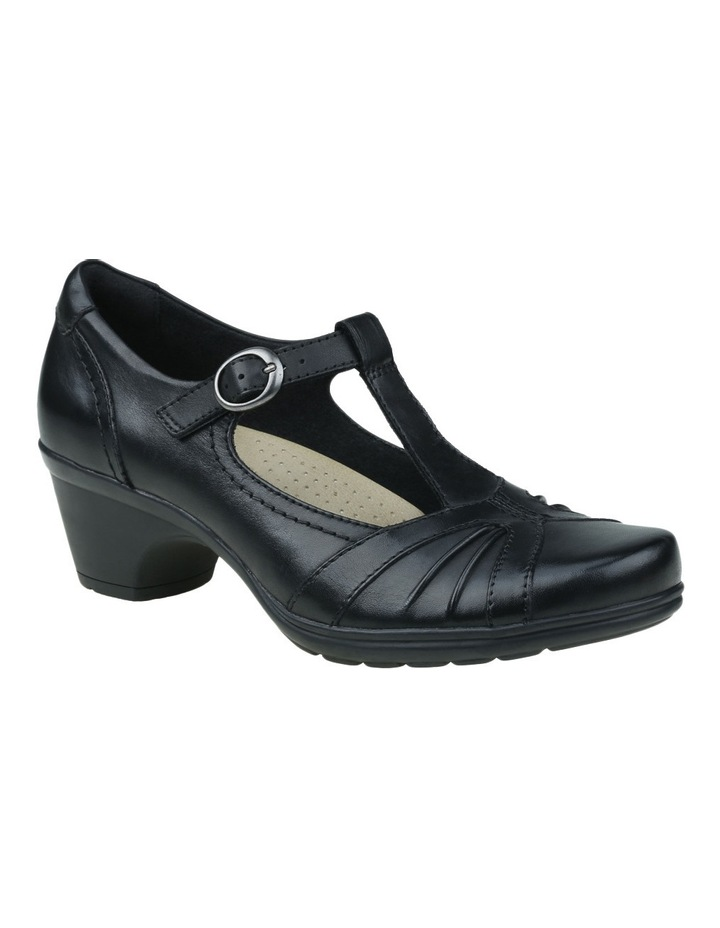 Merrin Black Heeled Shoes image 4