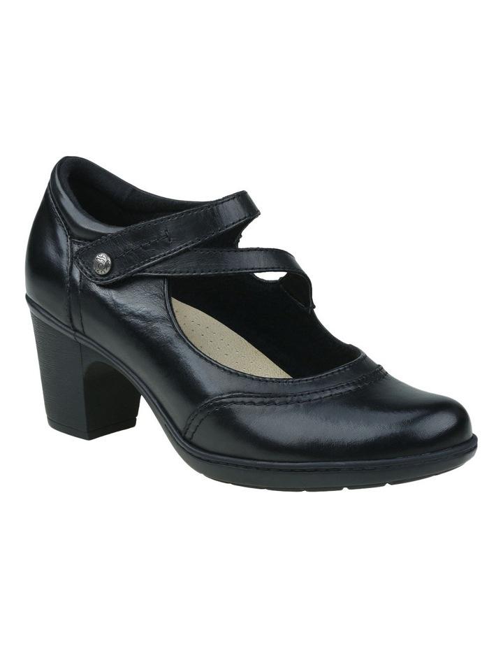 Base Black Heeled Shoes image 4