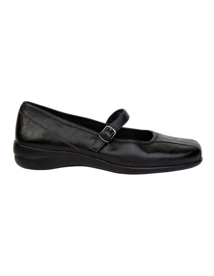 Brianna Black Flat Shoes image 1