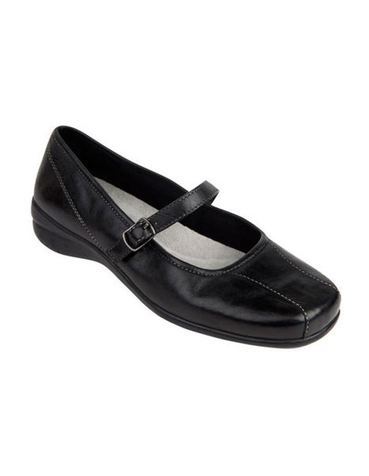 Brianna Black Flat Shoes image 3