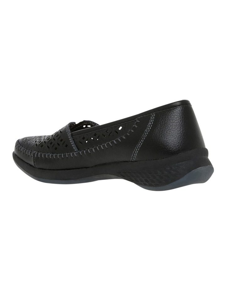 Craven Black Flat Shoes image 2