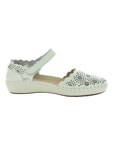 c947bb5fb Just Bee Courage White Flat Shoes