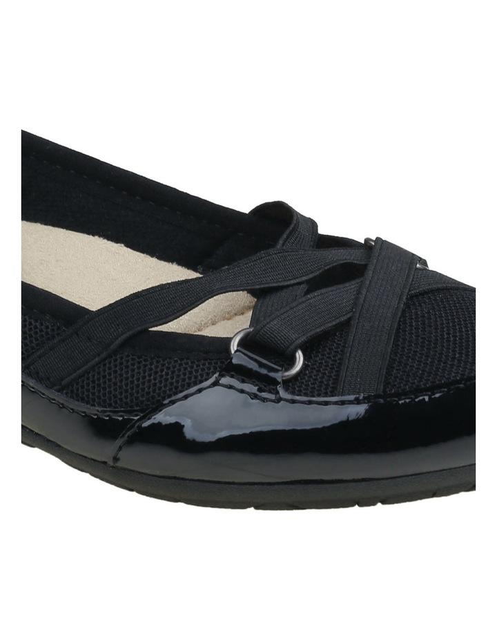 Fergie 2 Black Flat Shoes image 3