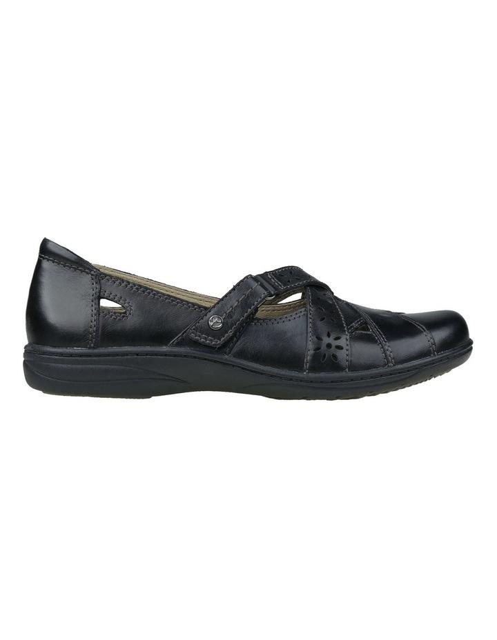 Juicy Black Flat Shoes image 1