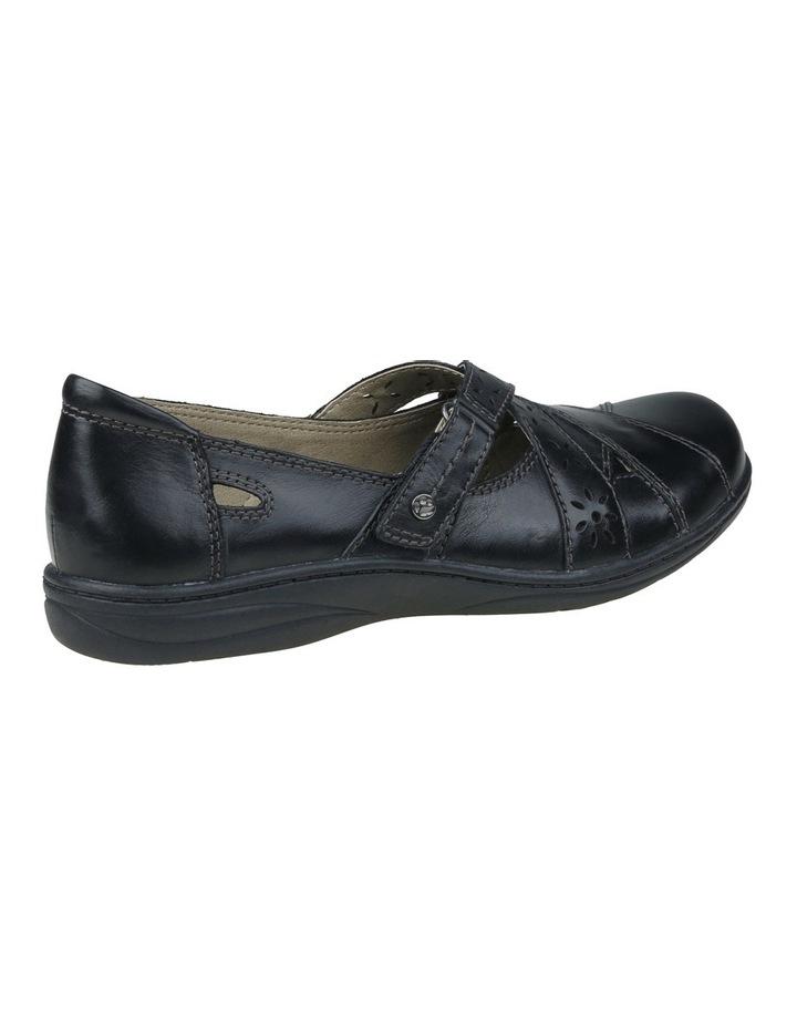 Juicy Black Flat Shoes image 2