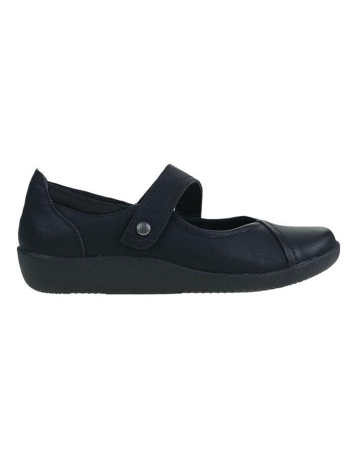 Guam Black Flat Shoe image 1