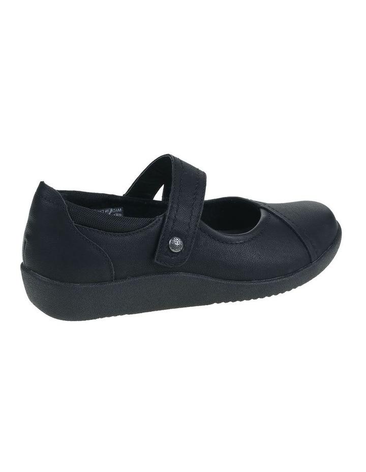 Guam Black Flat Shoe image 3