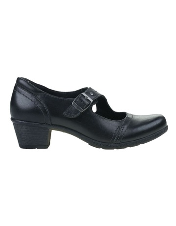 3c6b501026 Planet Shoes Tori Black Heeled Shoes