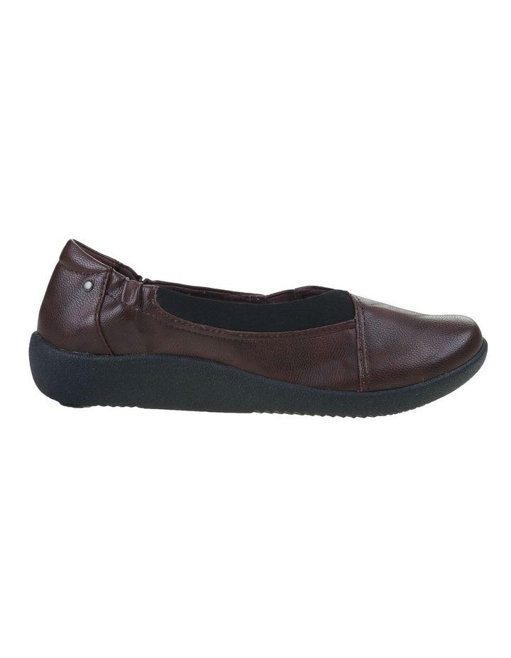 Gerty Merlot Flat Shoe image 1