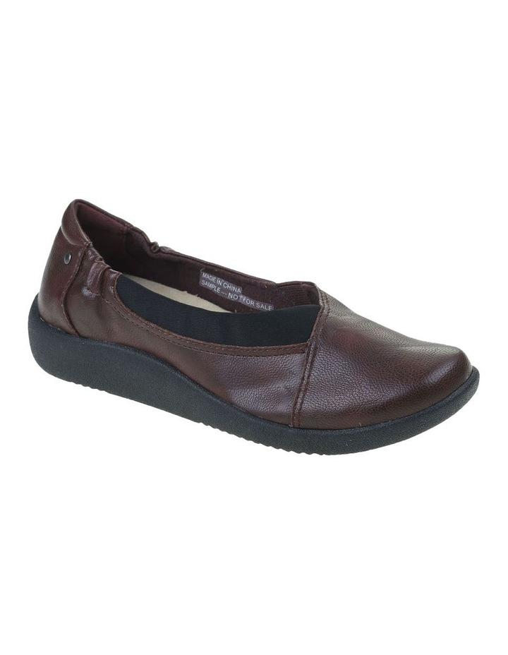 Gerty Merlot Flat Shoe image 2