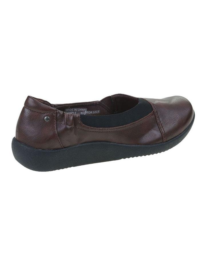Gerty Merlot Flat Shoe image 3