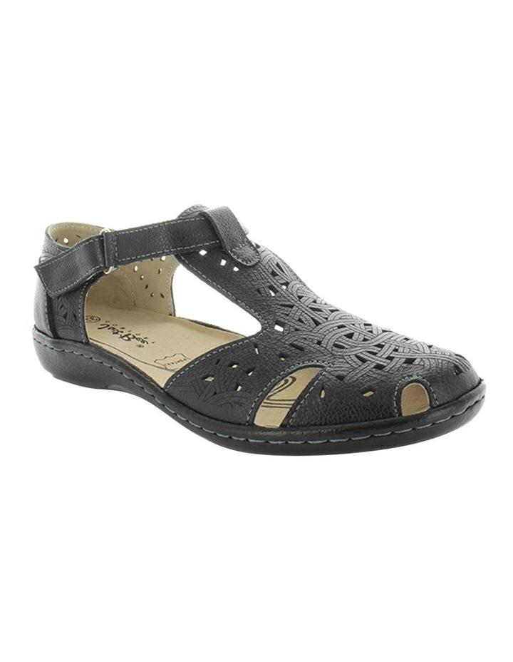 Chifley Black Flat Shoe image 2