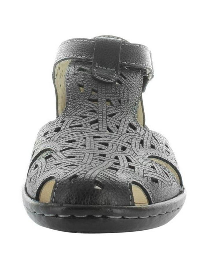 Chifley Black Flat Shoe image 3